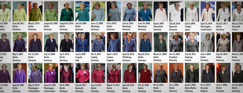 Pantonefächer Frau Merkel